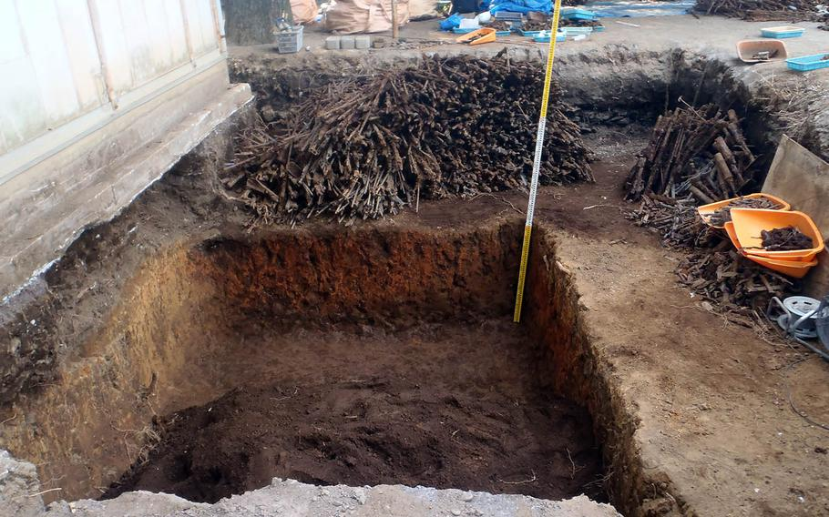 Japanese firearms, swords and ammunition believed to be from World War II were recently discovered buried beneath an elementary school playground in western Tokyo.