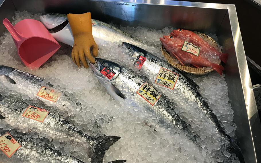 The waters off Hokkaido and the Russia-controlled islands to the north are rich fisheries. Roadside shops along the Shiretoko Peninsula are stocked with plenty of fresh local seafood.