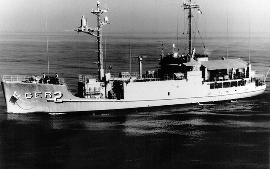 The USS Pueblo has been held by the North Koreans since they attacked and captured the naval intelligence ship along with 82 sailors on Jan. 23, 1968.