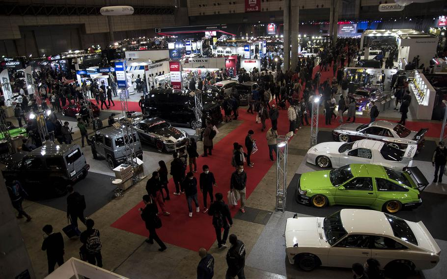 Tokyo Auto Salon was held over three days starting on Friday, Jan. 10, 2020, and is Japan's largest automotive trade show.