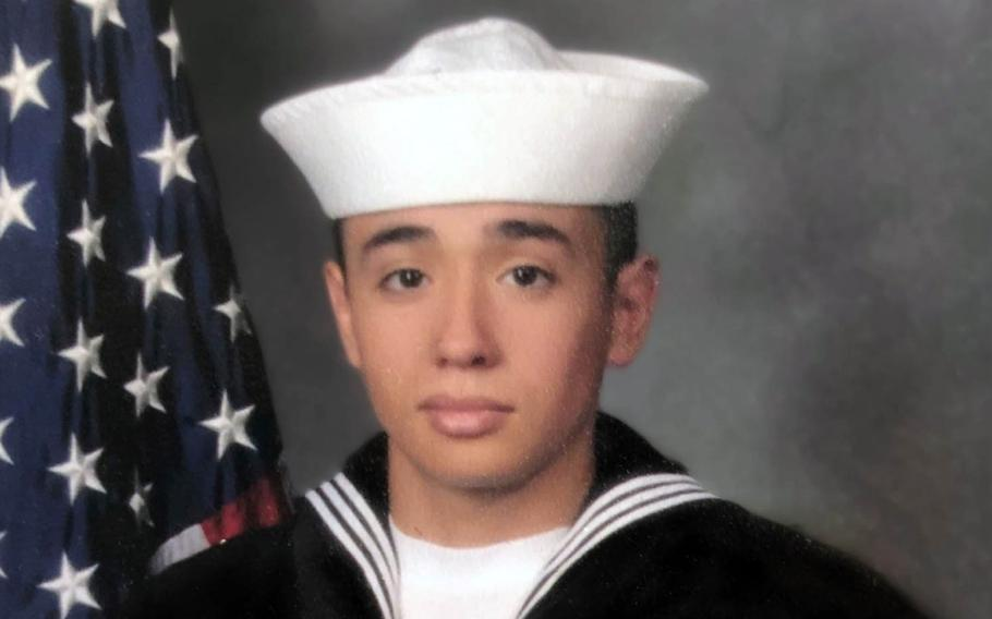 Petty Officer 3rd Class Daniel Perez, a naval aircrewman assigned to Helicopter Sea Combat Squadron 25, was found unresponsive and pulled from the water in Fish Eye Marine Park, Guam, on Jan. 11, 2020.