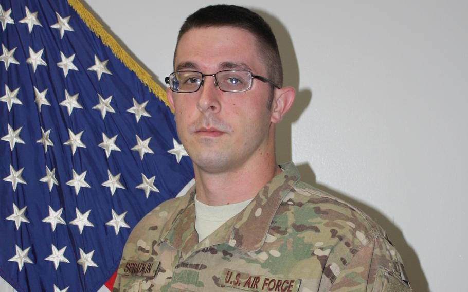 Senior Airman Michael Spradlin of the 374th Maintenance Squadron at Yokota Air Base, Japan, was killed in an on-base motorcyle accident, Wednesday, Feb. 5, 2020.