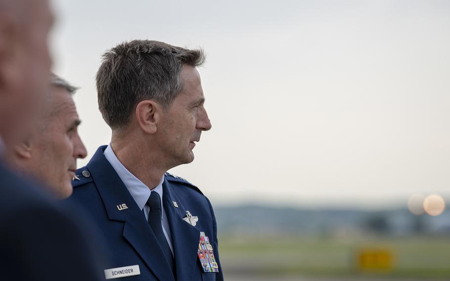U.S. Forces Japan commander Lt. Gen. Kevin B. Schneider is pictured at Yokota Air Base, Japan, June 3, 2019.