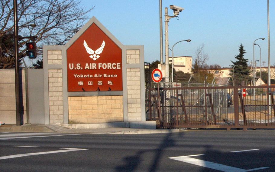 Yokota Air Base is in western Tokyo.