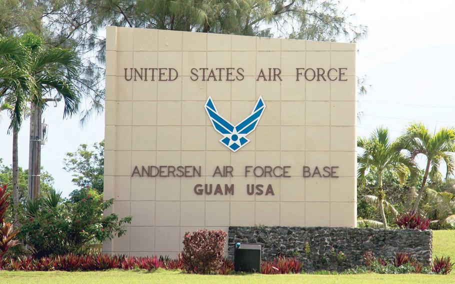 Andersen Air Force Base is home to the 36th Wing on Guam.