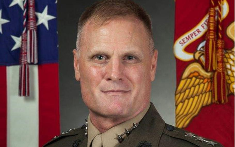 Lt. Gen. Steven Rudder, an aviator who has deployed to Afghanistan, Pakistan and Qatar for Operation Enduring Freedom, assumed command of U.S. Marine Corps Forces Pacific, Thursday, July 16, 2020.