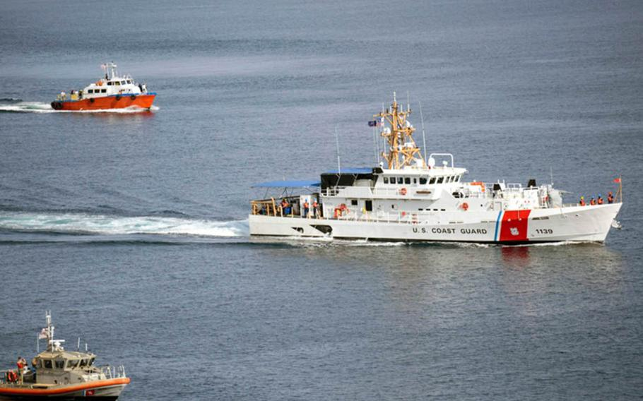 The Coast Guard has taken steps to increase its presence in the Indo-Pacific by placing its newest fast-response cutters in Guam to take part in patrols with U.S. partners in the region.