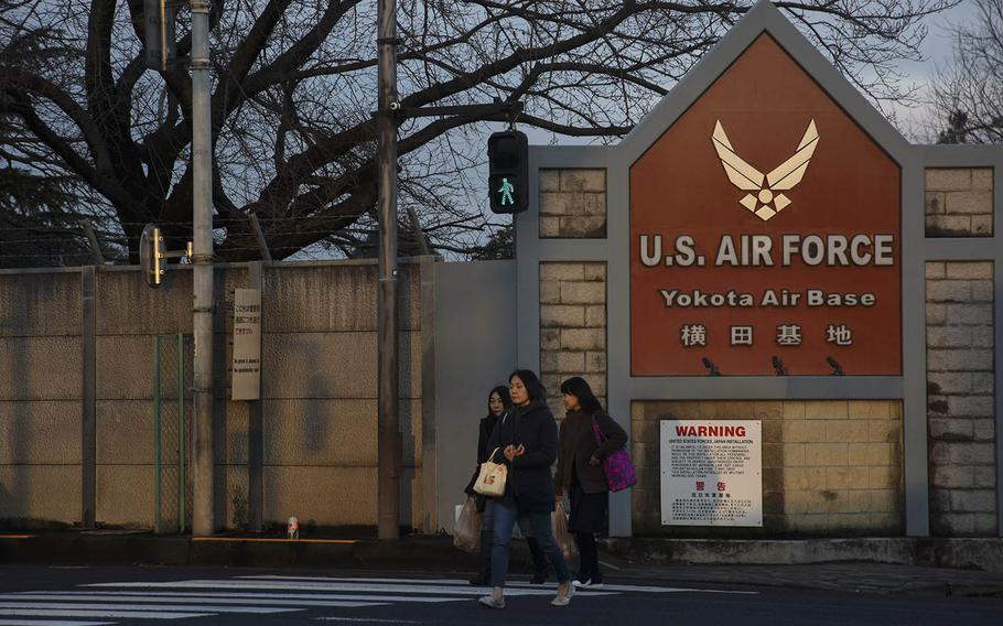Yokota Air Base is home to U.S. Forces Japan, 5th Air Force and the 374th Airlift Wing in western Tokyo.