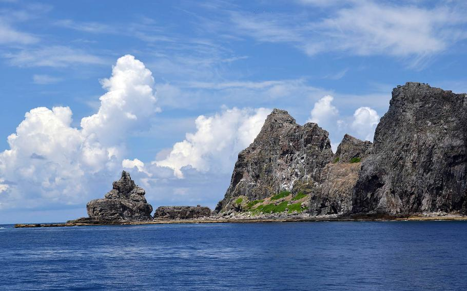 The uninhabited Senkaku island chain in the East China Sea are administered by Japan but claimed by China and Taiwan.