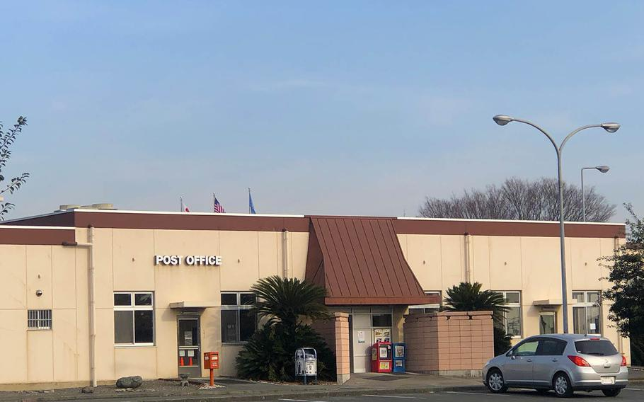 A small fire at the Yokota Air Base post office closed the building for several hours on Tuesday, Dec. 29, 2020.