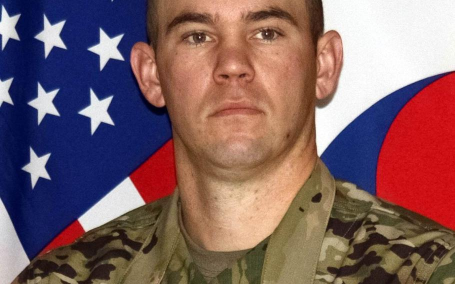 Army Staff Sgt. James Wento died in a vehicle rollover during training Jan. 5, 2021.