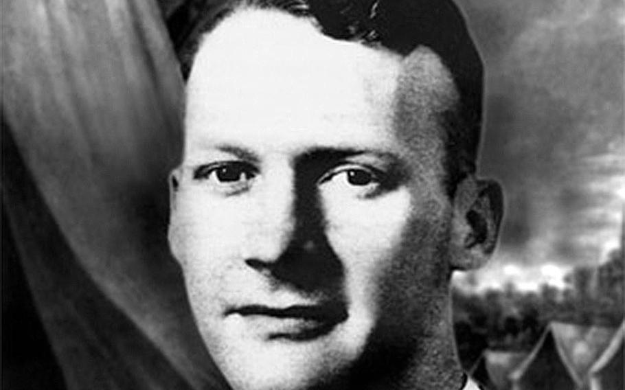 """First Lt. Alexander """"Sandy"""" Nininger, serving with the 57th Infantry Regiment, Philippine Scouts, died in battle on Jan. 12, 1942, near Abucay, Luzon Island, during the Japanese invasion."""