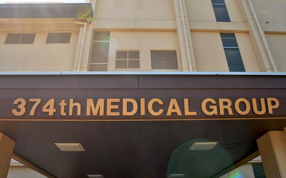 The 374th Medical Group at Yokota Air Base in western Tokyo has seen a rise in patients using personal email and social media to contact their medical providers.