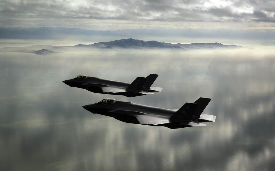 For the first time, F-35A Lightning II stealth fighters will fly alongside Japanese and Australian warplanes in the large-scale Cope North exercise, which began Wednesday, Feb. 3, 2021, on Guam.