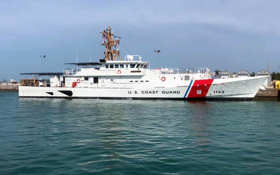 The Coast Guard's fast-response cutter Frederick Hatch.