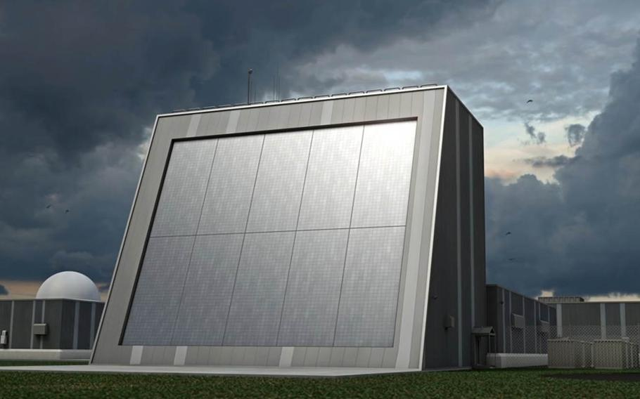 The Missile Defense Agency is seeking public feedback on potential locations in Hawaii for the Homeland Defense Radar, shown here in an artist's conceptual rendering.