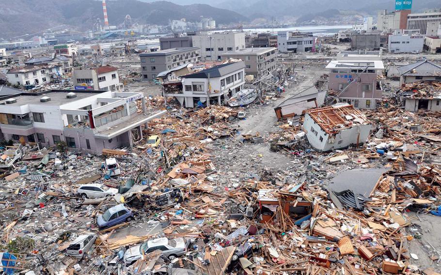 კადრები იაპონიიდან, სადაც ძლიერი მიწისძვრა მოხდა