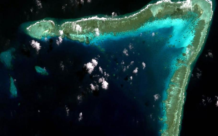 Whitsun Reef, also known as Julian Felipe Reef, is part of the Spratly Islands in the South China Sea.