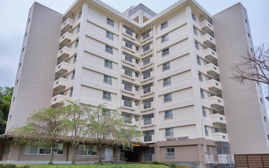 Ikego Housing Detachment near Yokosuka Naval Base, Japan, features more than 800 housing units, a fitness center, a swimming pool, tennis courts and a teen center.