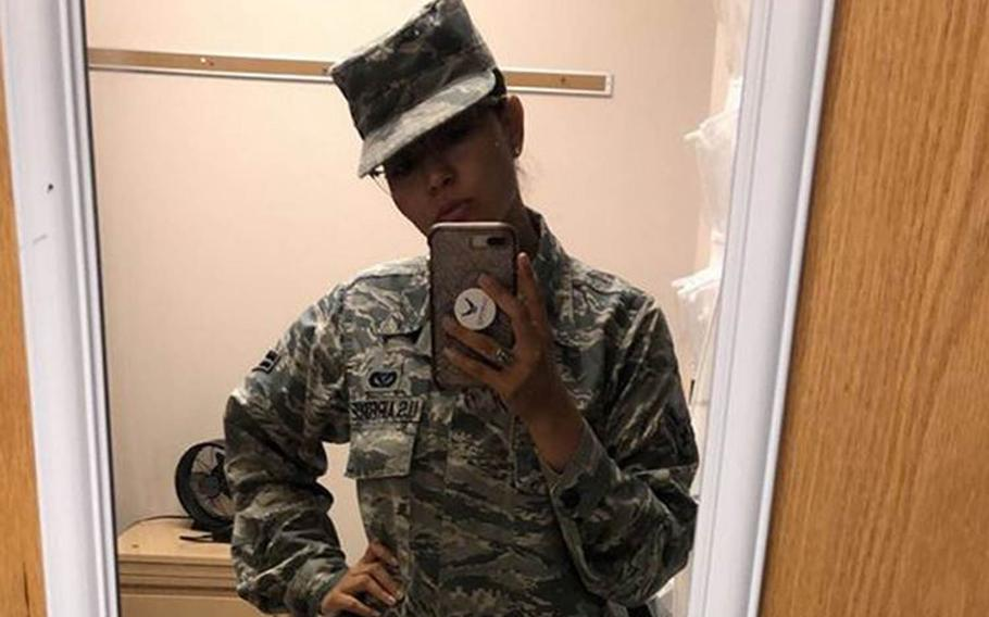 Airman 1st Class Sarah Figueroa said on social media that she experienced sexual harassment and retaliation at Misawa Air Base.