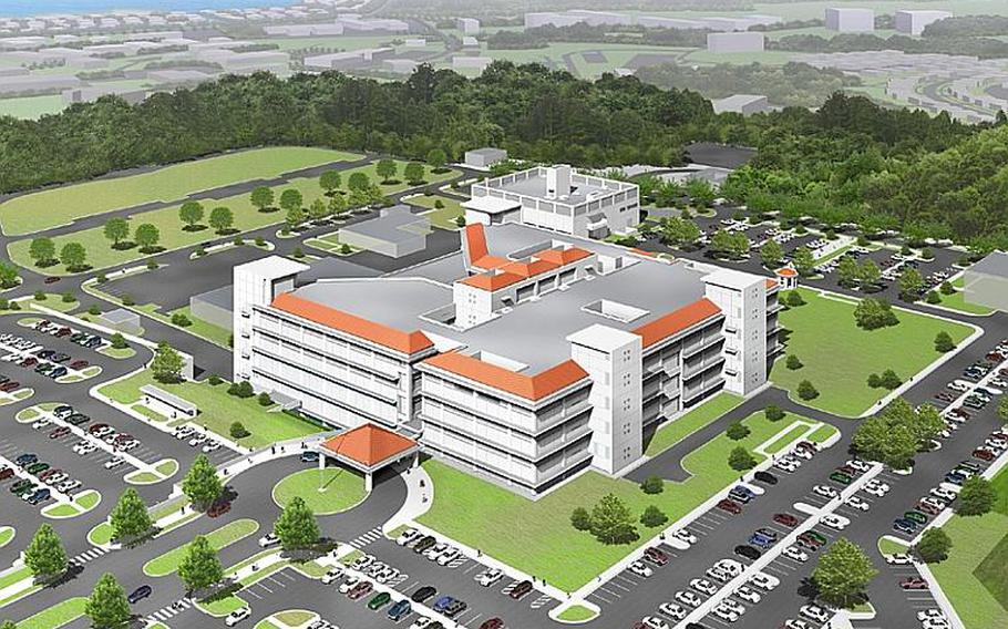 The new U.S. Naval Hospital Okinawa is scheduled to be completed by early 2012 on Camp Foster. It has 100,000 more square feet of space than the exisiting Camp Lester hospital, which will be razed prior to the base being returned to local landowners.