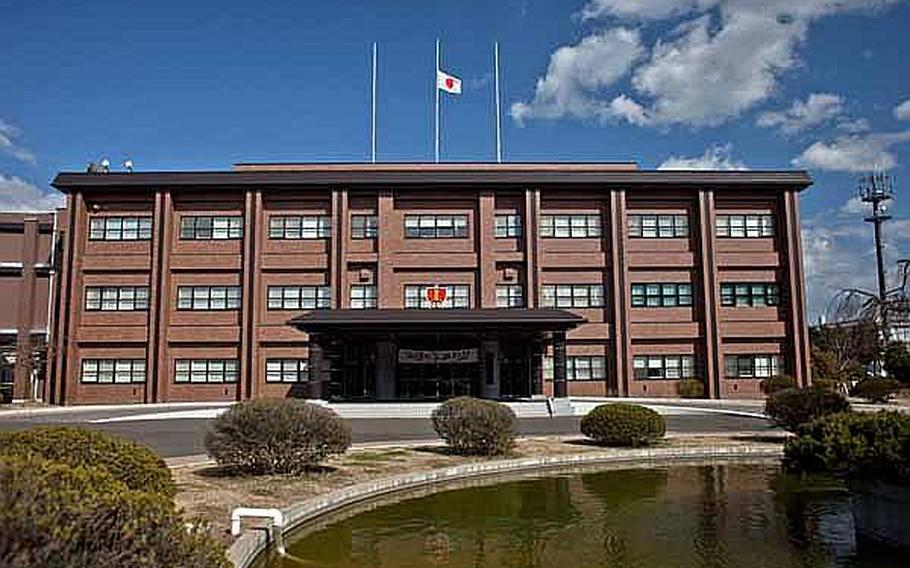 The headquarters building for the Japan Self-Defense Force Northeastern Army at Camp Sendai, Japan.