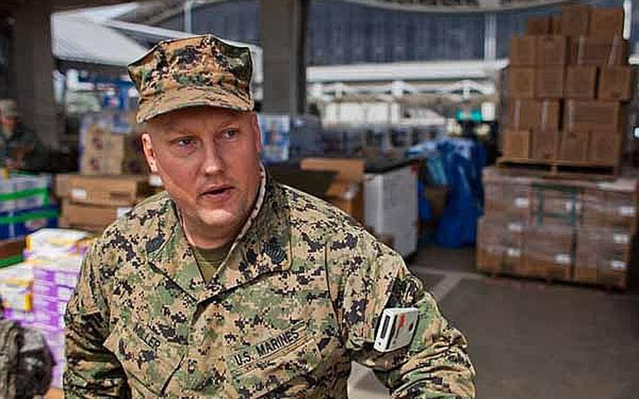 As more than 100 U.S. Army soldiers started their move north from Sendai Airport to Ishinomaki, Japan, some 100 Marine Corps troops starting their return home this week, said Master Sgt. James Miller from the 3rd Logistics Group out of Okinawa.