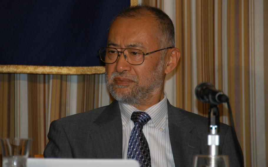 Tokyo University professor and food safety expert Hideaki Karaki.