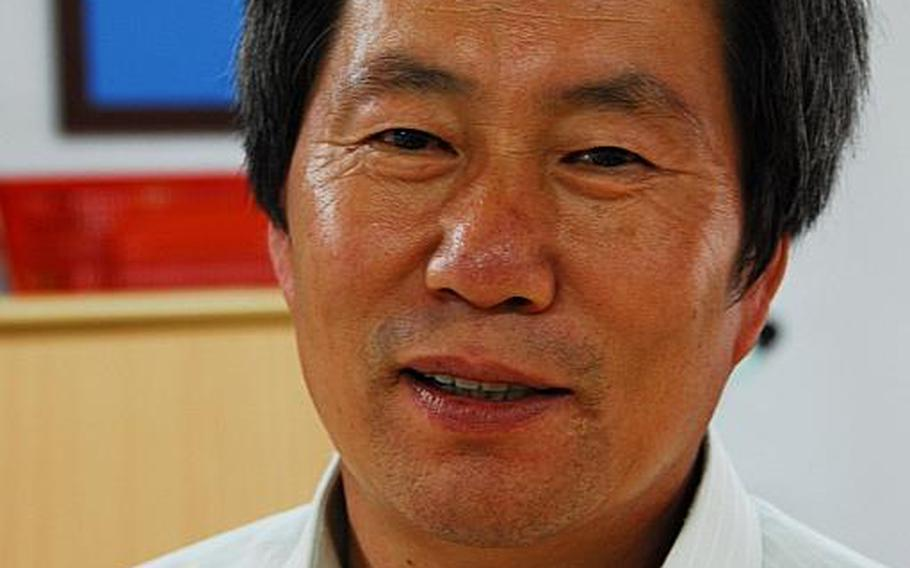 Kim Doek Won, principal of Daesungdong Elementary School
