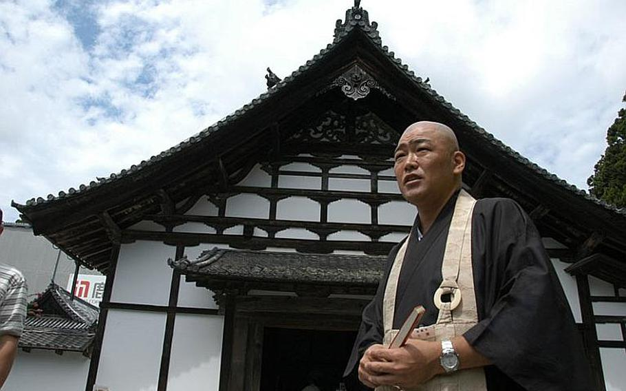 The Zuigan-ji temple in Matsushima, Japan, is a designated national treasure, according to Yoichi Chiba, one of 10 monks who live and work at the temple alongside 10 regular staff.
