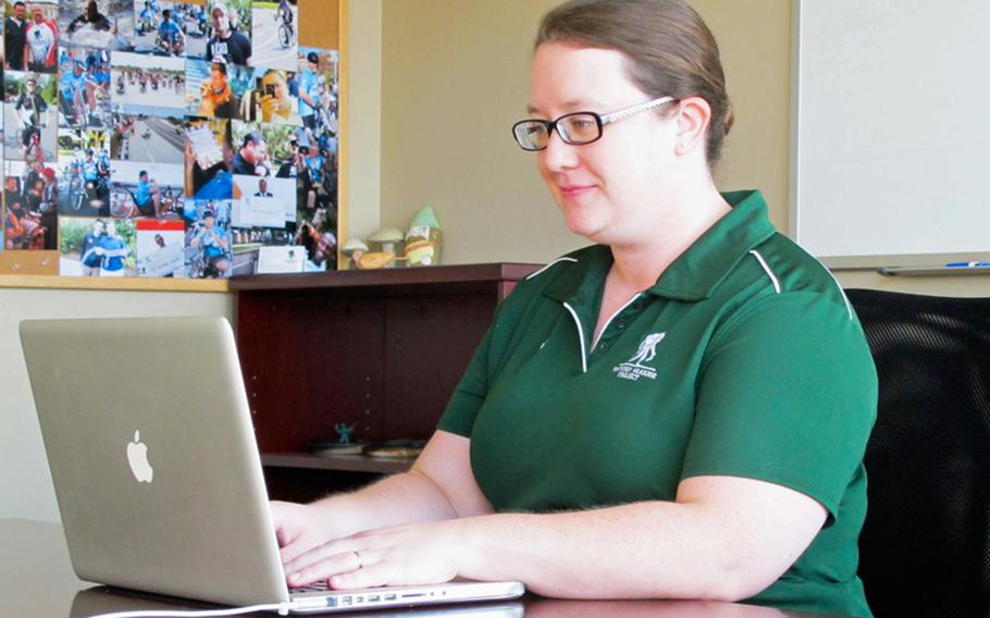 Jennifer Boyce, manager of social media for the Wounded Warrior Project, combs social media sites like Facebook days, nights, weekends, and even holidays, looking for veterans in need of assistance.