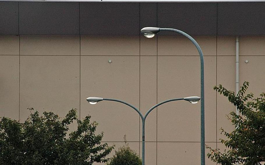 Street lights at Yokota Air Base that were turned off to save electricity over summer will gradually be turned back on this month.