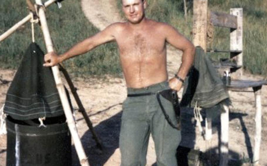 Marine Staff Sgt. Claude Dorris, a Navy Cross recipient, was killed by an enemy rocket on Jan. 7, 1968, in Thua Thien Province, Vietnam.