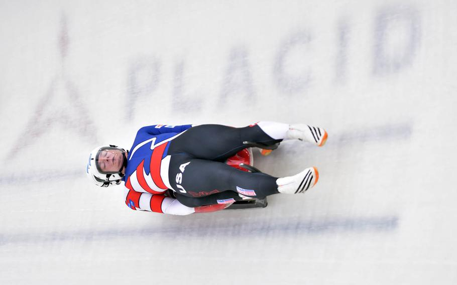Three soldiers will be on the U.S. luge team and four others will be on the bobsled team during the Olympics next month in South Korea.