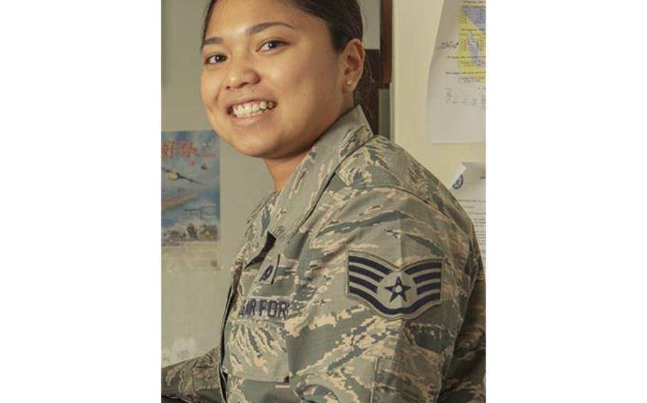 Staff Sgt. Eliction Chan, 27, of the 374th Mission Support Group at Yokota Air Base, Japan, was found dead in her off-base residence, Monday, Oct. 1, 2018.