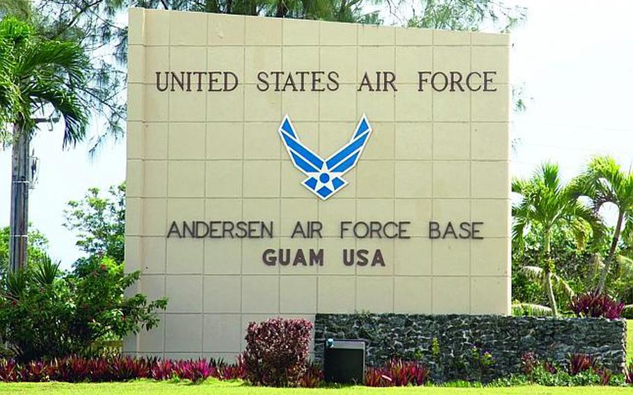 Andersen Air Force Base is home to the 36th Wing on the U.S. territory of Guam in the western Pacific.