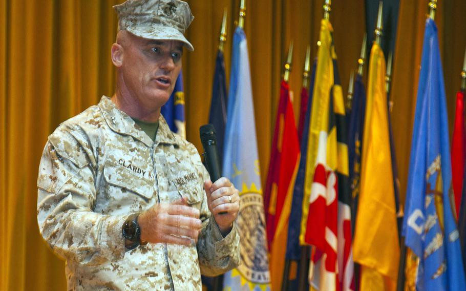 Lt. Gen. H. Stacy Clardy III has been tapped to lead the III Marine Expeditionary Force on Okinawa.