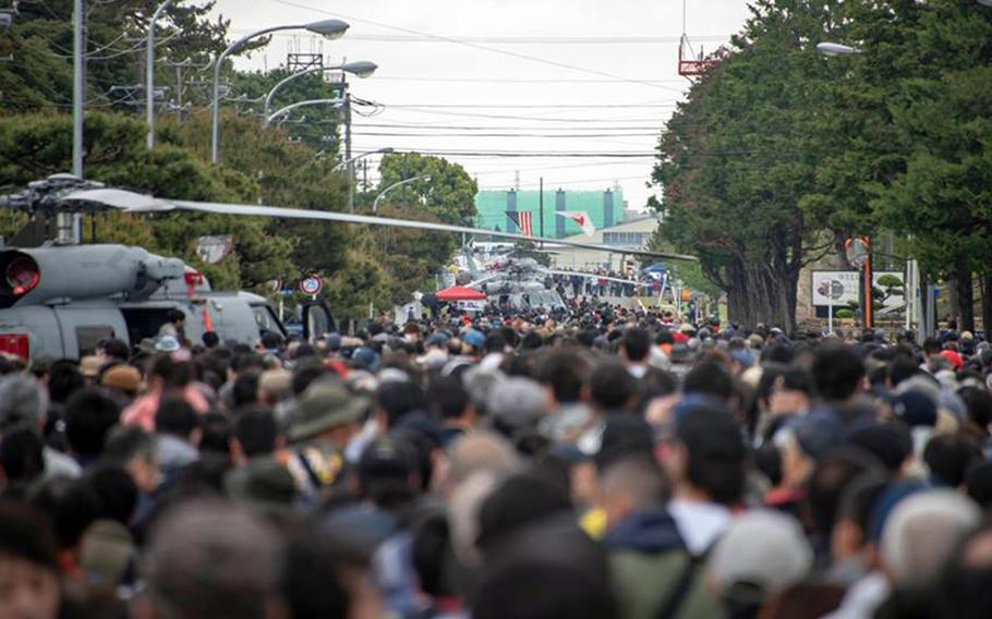 More than 40,000 people attended the Spring Festival at Naval Air Facility Atsugi, Japan, Saturday, April 27, 2019.