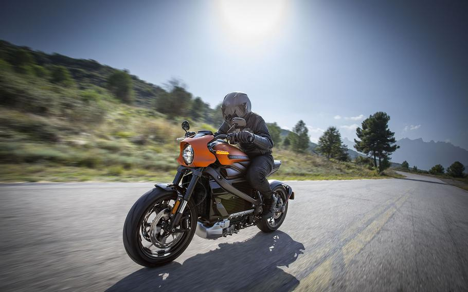 Harley-Davidson says its new LiveWire electric motorcycle can accelerate from zero to 60 mph in 3.5 seconds.