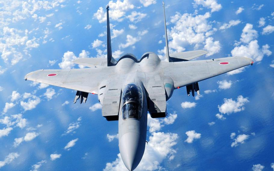 The Japan Air Self-Defense Force scrambled its fighter jets 638 times between April 1, 2018, and March 31, 2019, in response to Chinese drones, fighter jets, bombers and surveillance planes, according to statistics from Japan's Ministry of Defense.