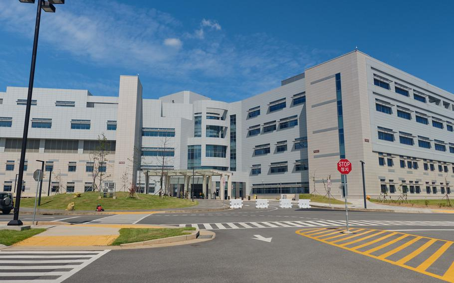 The Brian D. Allgood Army Community Hospital is scheduled to officially open on Nov. 15, 2019, at Camp Humphreys, South Korea.