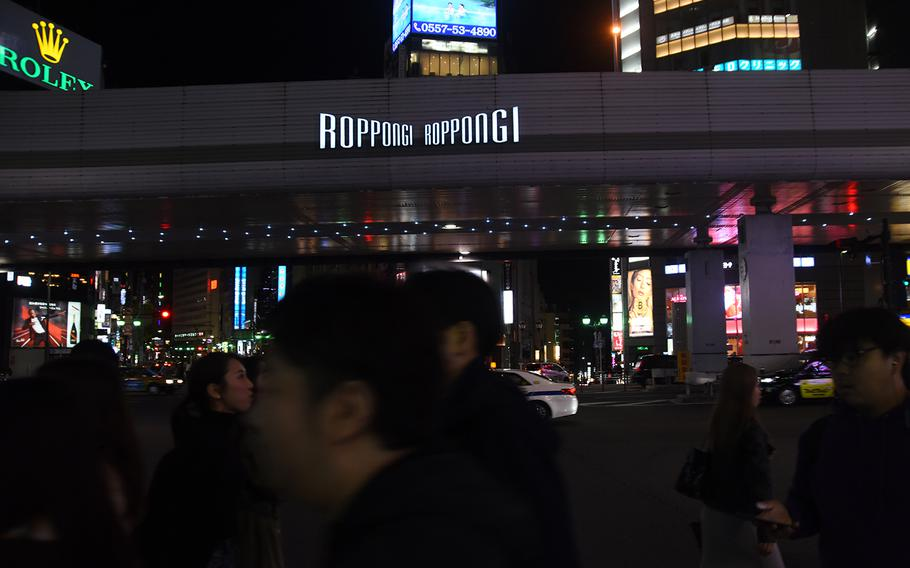 Tokyo police say scams targeting foreigners usually happen in Roppongi and other entertainment districts in the city.