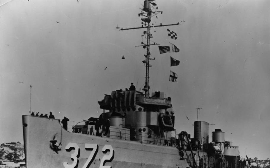 The USS Murrelet, an Auk-class minesweeper that earned five battle stars during the Korean War, was retired in December 1965 and transferred to the Philippines the following June.