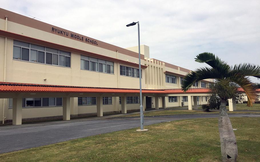 Ryukyu Middle is a Department of Defense Education Activity school at Kadena Air Base, Okinawa.