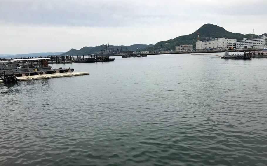 Sasebo Naval Base on the island of Kyushu in southwestern Japan reported its first positive case of coronavirus on Friday, April 3, 2020.
