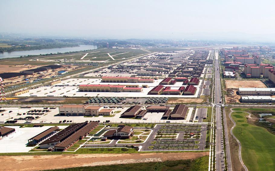 Camp Humphreys is home to U.S. Forces Korea, the 2nd Infantry Division and Eighth Army near Pyeongtaek, South Korea.