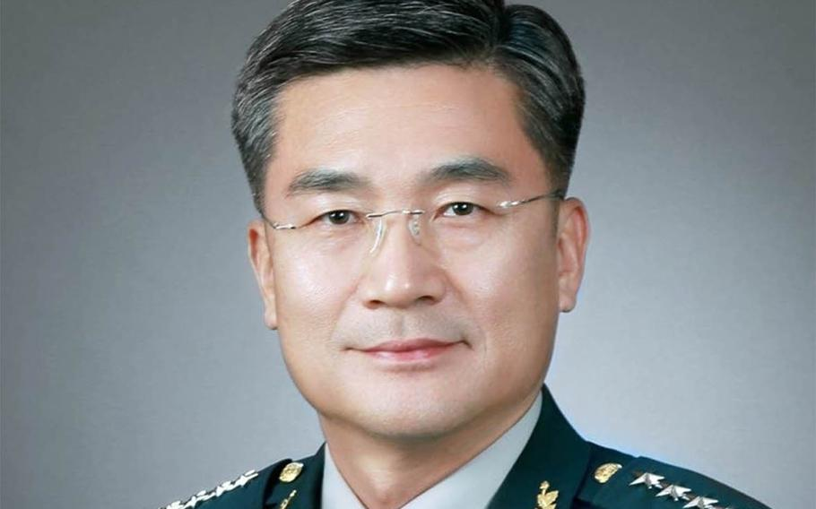 South Korea's Army Chief of Staff Gen. Suh Wook has been nominated by President Moon Jae-in to be his new defense minister.