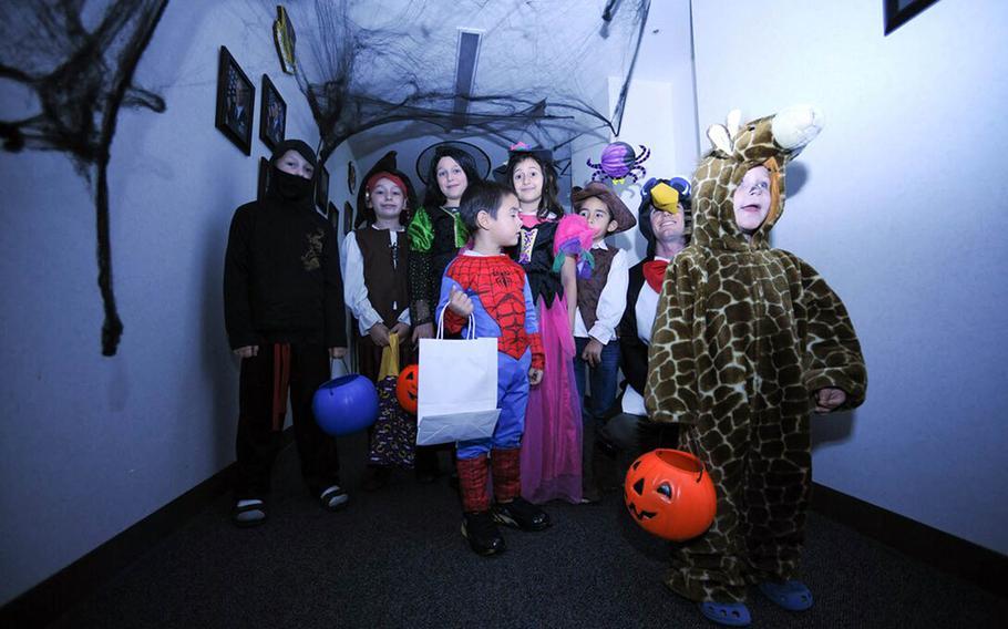 A volunteer group called Yokota COVID-19 Errands Run is gearing up to deliver Halloween treats to children stuck in quarantine at Yokota Air Base, Japan.