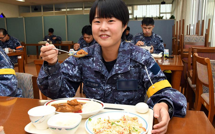 """Every Friday, the maritime bases around Japan post photos of their curries on social media that elicit such comments as """"Wow it looks delicious!"""" and """"Makes me want to eat curry for lunch!"""""""
