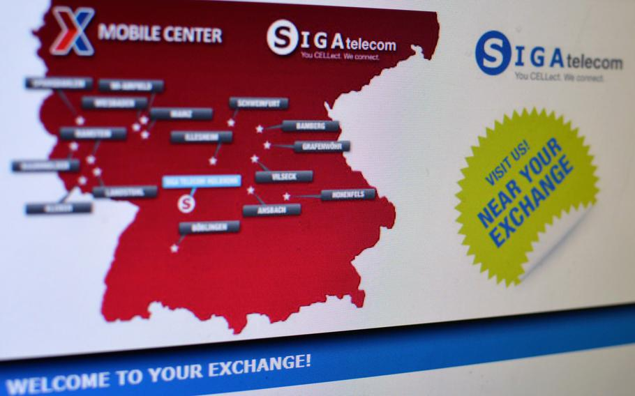 SIGA, a German telecom company that is an AAFES contractor, has sent out emails to its 27,500 customers in Germany, whose personal data was breached.